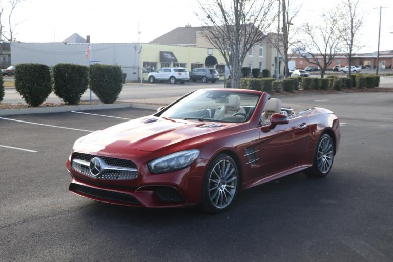 Used 2017 Mercedes-Benz SL550 Roadster Convertible RWD W/NAV SL550 for sale Sold at Auto Collection in Murfreesboro TN 37130 2