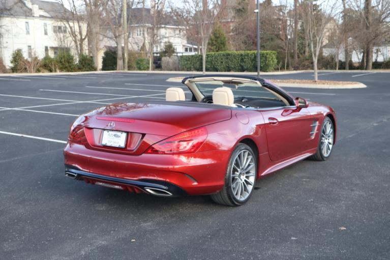 Used 2017 Mercedes-Benz SL550 Roadster Convertible RWD W/NAV SL550 for sale Sold at Auto Collection in Murfreesboro TN 37130 3