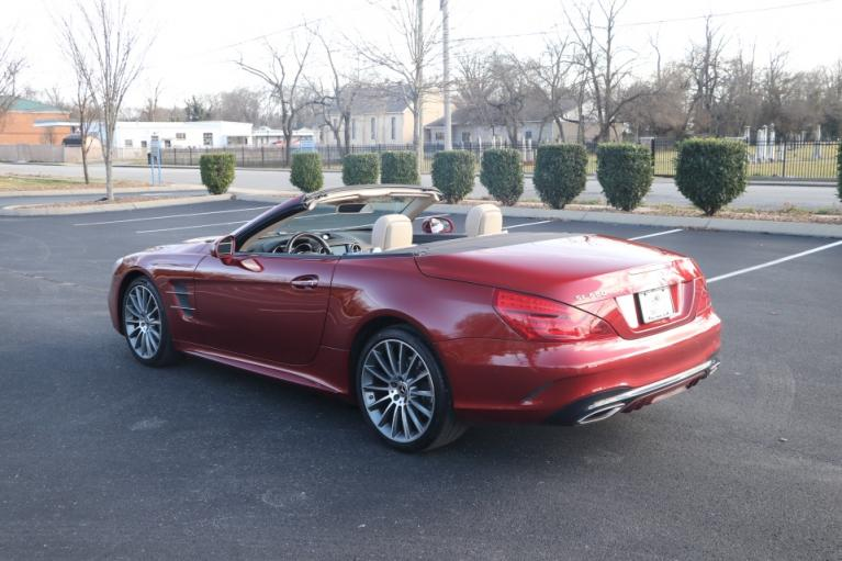 Used 2017 Mercedes-Benz SL550 Roadster Convertible RWD W/NAV SL550 for sale Sold at Auto Collection in Murfreesboro TN 37130 4