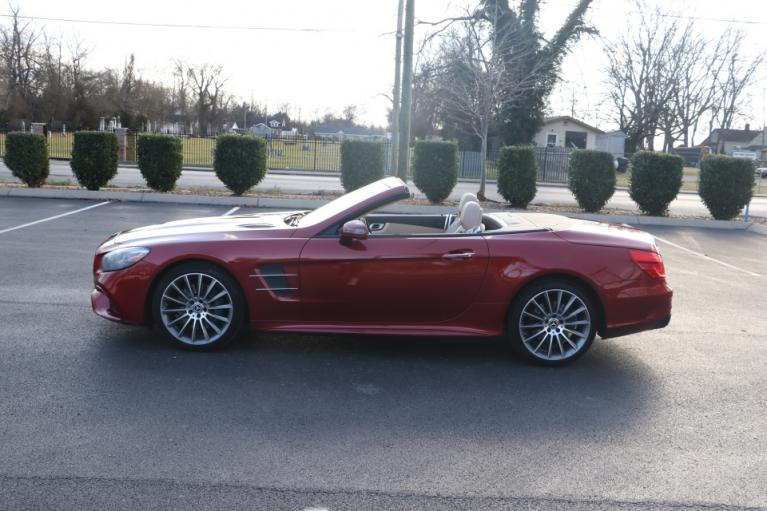 Used 2017 Mercedes-Benz SL550 Roadster Convertible RWD W/NAV SL550 for sale Sold at Auto Collection in Murfreesboro TN 37130 7