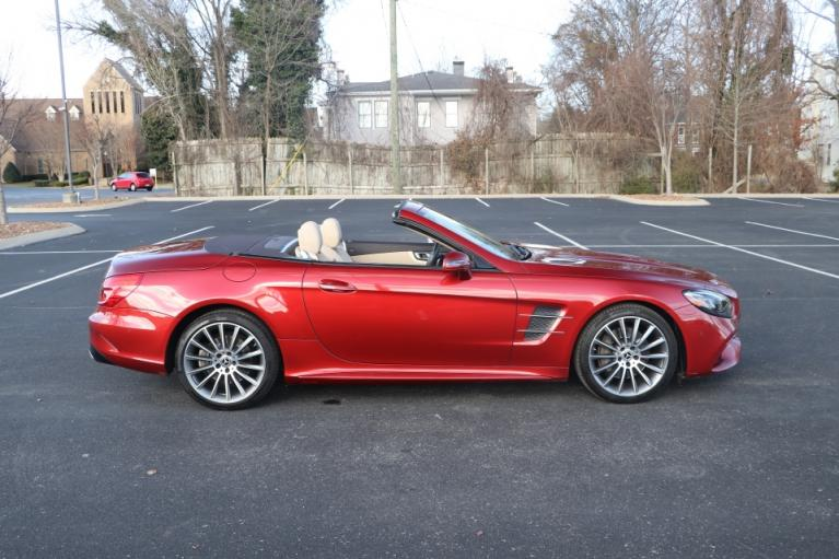 Used 2017 Mercedes-Benz SL550 Roadster Convertible RWD W/NAV SL550 for sale Sold at Auto Collection in Murfreesboro TN 37130 8