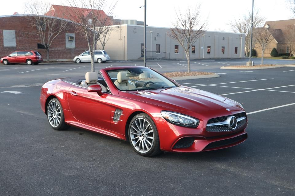 Used 2017 Mercedes-Benz SL550 Roadster Convertible RWD W/NAV SL550 for sale Sold at Auto Collection in Murfreesboro TN 37130 1