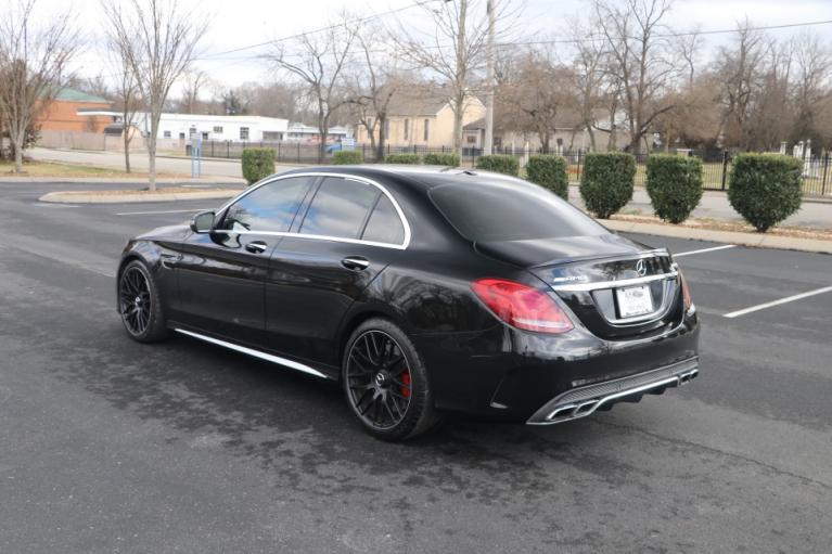 Used 2018 Mercedes-Benz C63 S AMG RWD W/NAV AMG C63 S SEDAN for sale Sold at Auto Collection in Murfreesboro TN 37130 4