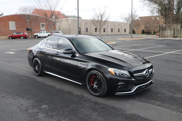 Used 2018 Mercedes-Benz C63 S AMG RWD W/NAV AMG C63 S SEDAN for sale Sold at Auto Collection in Murfreesboro TN 37130 1