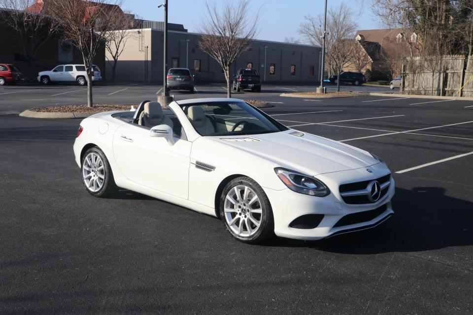 Used 2017 Mercedes-Benz SLC 300 ROADSTER RWD W/NAV SLC300 for sale Sold at Auto Collection in Murfreesboro TN 37130 1