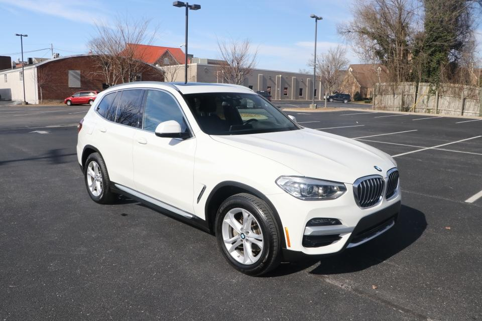 Used 2020 BMW X3 SDRIVE30I SPORT RWD W/PANORAMIC SDRIVE30I for sale Sold at Auto Collection in Murfreesboro TN 37130 1