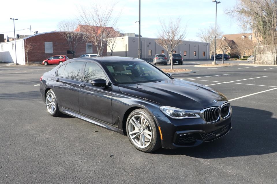 Used 2018 BMW 750I MSPORT RWD W/NAV 750i for sale $52,950 at Auto Collection in Murfreesboro TN 37130 1