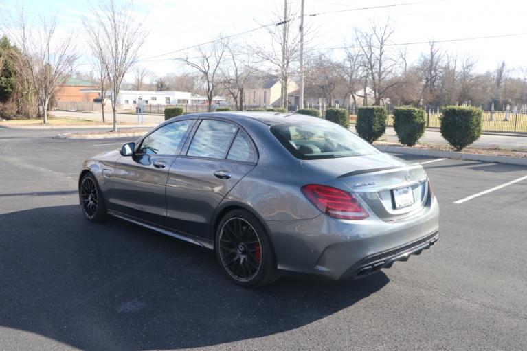 Used 2018 Mercedes-Benz C63 AMG S RWD W/NAV AMG C63 S SEDAN for sale Sold at Auto Collection in Murfreesboro TN 37130 4