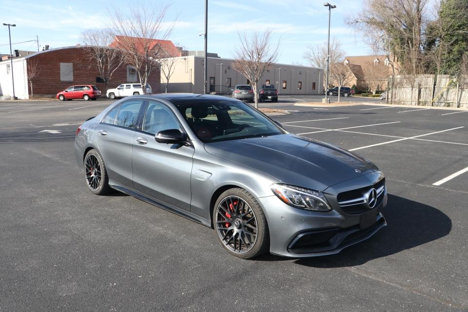 Used 2018 Mercedes-Benz C63 AMG S RWD W/NAV AMG C63 S SEDAN for sale Sold at Auto Collection in Murfreesboro TN 37130 1