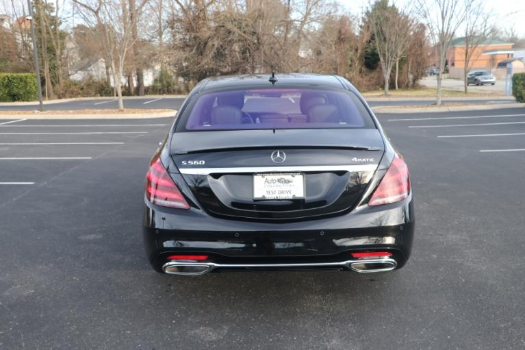 Used 2020 Mercedes-Benz S560 4MATIC AWD W/NAV for sale Sold at Auto Collection in Murfreesboro TN 37130 6