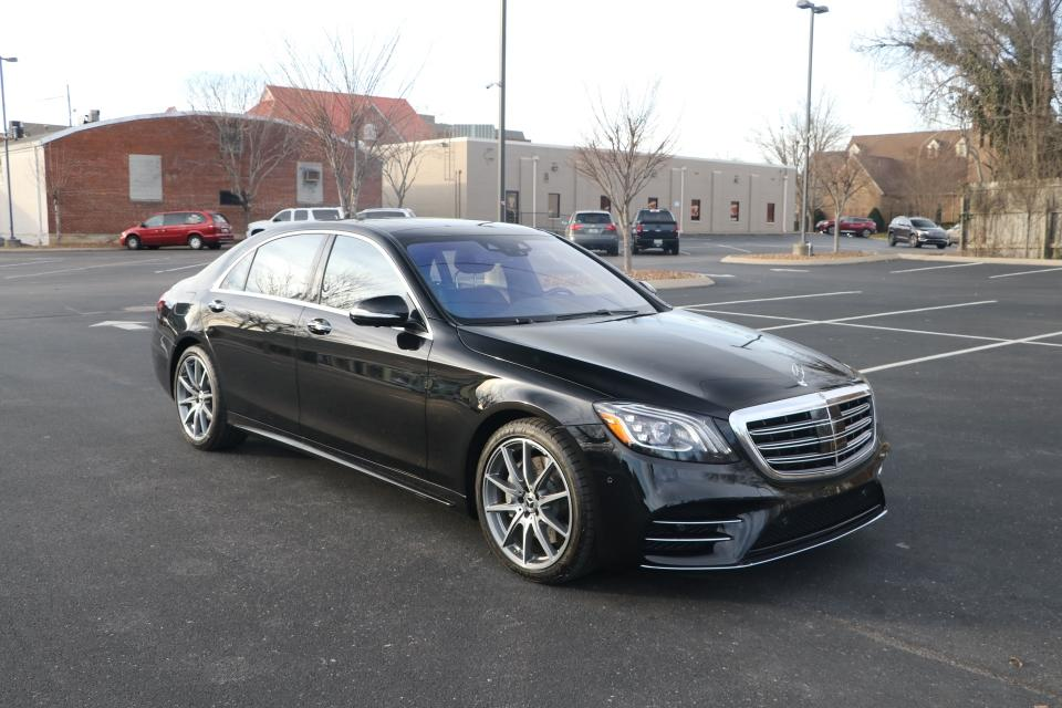 Used 2020 Mercedes-Benz S560 4MATIC AWD W/NAV for sale Sold at Auto Collection in Murfreesboro TN 37130 1