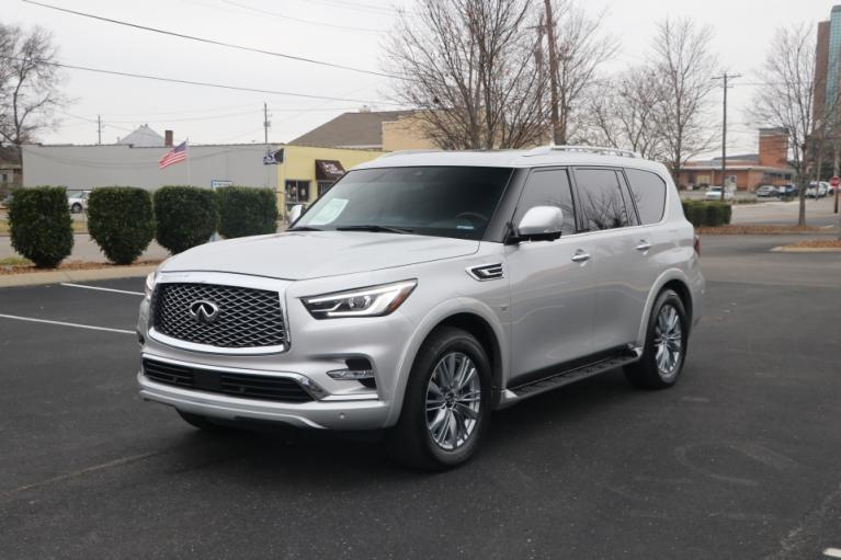 Used 2019 INFINITI QX80 LUXE AWD W/NAV luxe for sale Sold at Auto Collection in Murfreesboro TN 37130 2