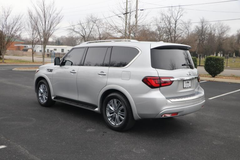 Used 2019 INFINITI QX80 LUXE AWD W/NAV luxe for sale Sold at Auto Collection in Murfreesboro TN 37130 4