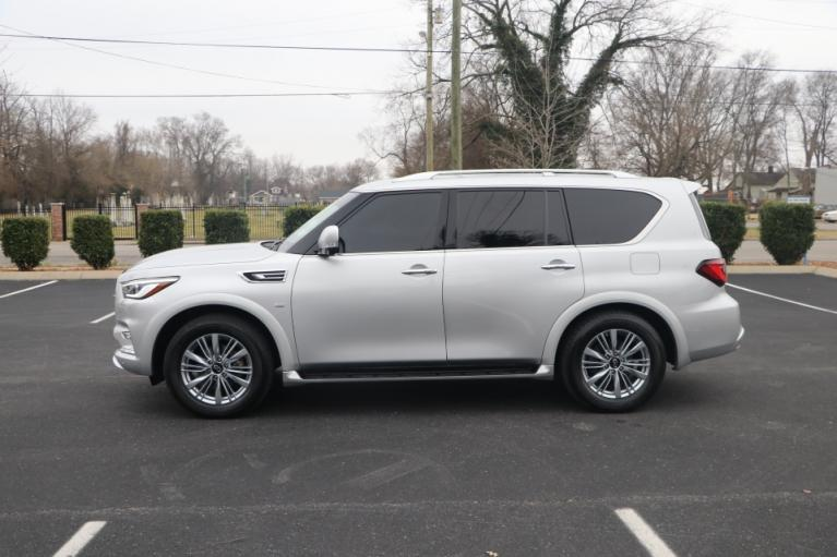 Used 2019 INFINITI QX80 LUXE AWD W/NAV luxe for sale Sold at Auto Collection in Murfreesboro TN 37130 7