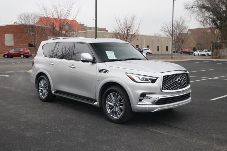 Used 2019 INFINITI QX80 LUXE AWD W/NAV luxe for sale Sold at Auto Collection in Murfreesboro TN 37130 1