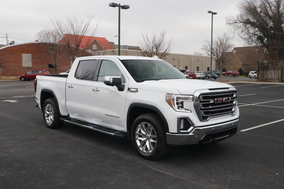 Used 2021 GMC SIERRA 1500 SLT DURAMAX 4WD CREWCAB W/NAV for sale Sold at Auto Collection in Murfreesboro TN 37130 1
