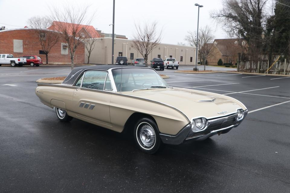 Used 1963 Ford Thunderbird Landau coupe for sale Sold at Auto Collection in Murfreesboro TN 37130 1