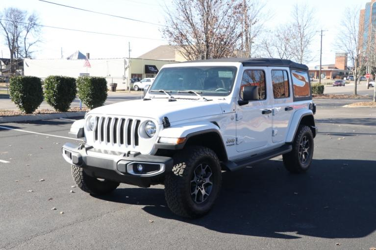 Used 2018 Jeep WRANGLER UNLIMITED SAHARA 4WD W/NAV UNLIMITED SAHARA for sale $41,950 at Auto Collection in Murfreesboro TN 37130 2
