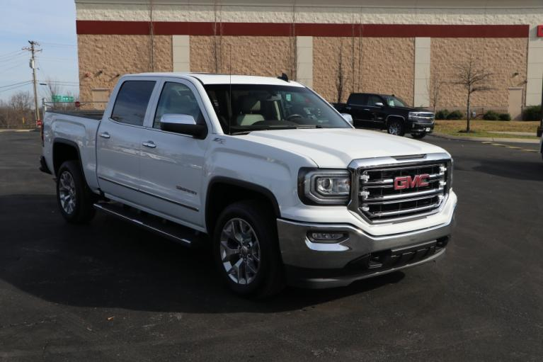 Used Used 2018 GMC SIERRA 1500 SLT Crew Cab 4x4 w/NAV SLT CREW CAB SHORT BOX 4WD for sale $36,950 at Auto Collection in Murfreesboro TN