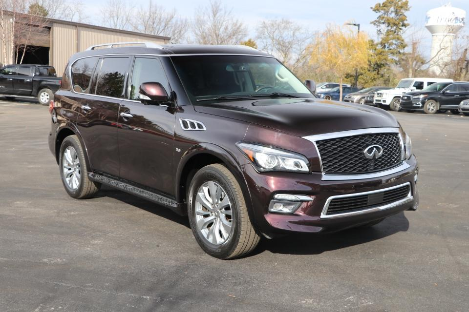 Used 2015 Infiniti QX80 2WD W/NAV for sale $26,950 at Auto Collection in Murfreesboro TN 37130 1
