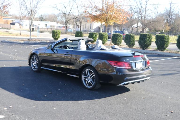 Used 2017 Mercedes-Benz E400 RWD CABRIOLET W/NAV for sale Sold at Auto Collection in Murfreesboro TN 37130 4