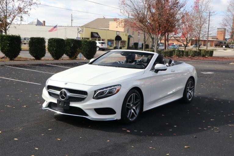 Used 2017 Mercedes-Benz S550 CABRIOLET W/NAV S550 CONVERTIBLE for sale Sold at Auto Collection in Murfreesboro TN 37130 2