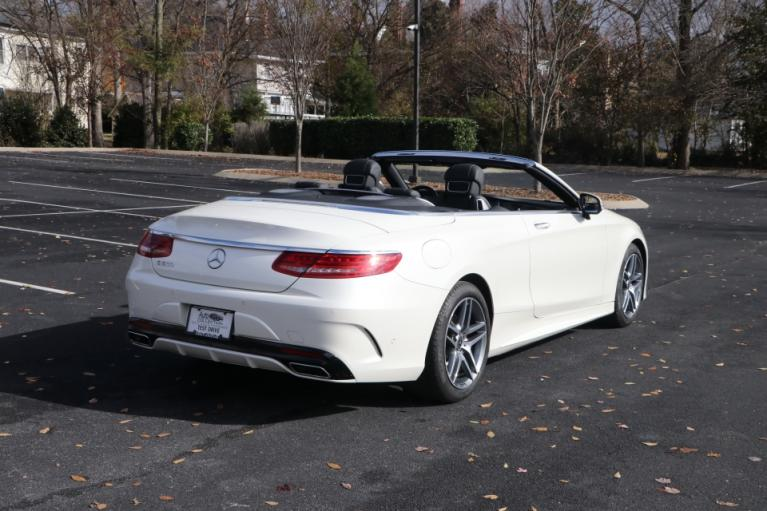 Used 2017 Mercedes-Benz S550 CABRIOLET W/NAV S550 CONVERTIBLE for sale Sold at Auto Collection in Murfreesboro TN 37130 3