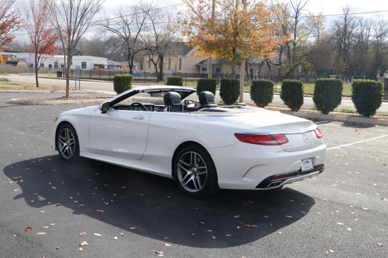 Used 2017 Mercedes-Benz S550 CABRIOLET W/NAV S550 CONVERTIBLE for sale Sold at Auto Collection in Murfreesboro TN 37130 4
