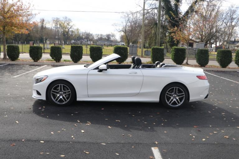 Used 2017 Mercedes-Benz S550 CABRIOLET W/NAV S550 CONVERTIBLE for sale Sold at Auto Collection in Murfreesboro TN 37130 7