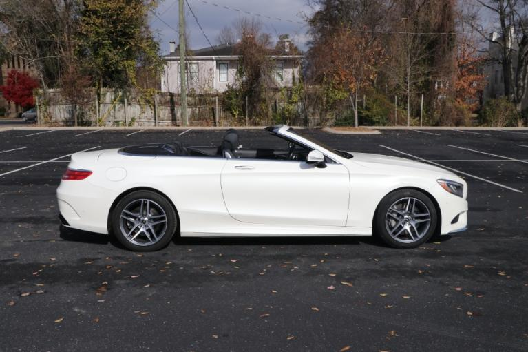 Used 2017 Mercedes-Benz S550 CABRIOLET W/NAV S550 CONVERTIBLE for sale Sold at Auto Collection in Murfreesboro TN 37130 8