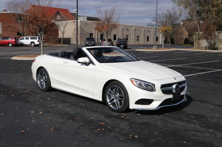 Used 2017 Mercedes-Benz S550 CABRIOLET W/NAV S550 CONVERTIBLE for sale Sold at Auto Collection in Murfreesboro TN 37130 1