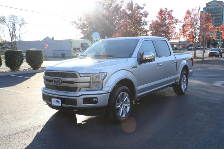 Used 2018 Ford F-150 PLATINUM SUPERCREW W/NAV PLATINUM SUPERCREW 5.5-FT. BED 4WD for sale $46,500 at Auto Collection in Murfreesboro TN 37130 2