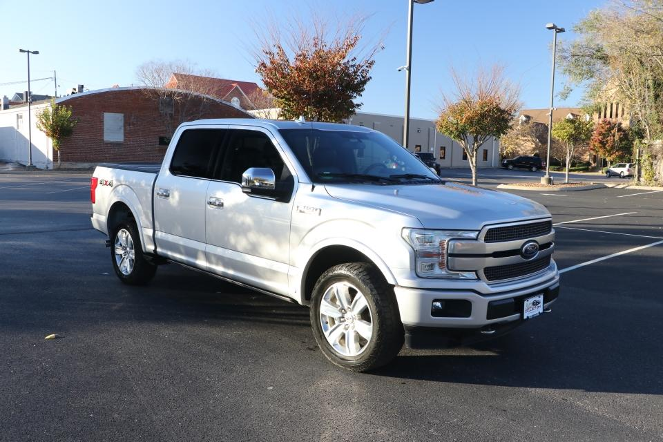 Used 2018 Ford F-150 PLATINUM SUPERCREW W/NAV PLATINUM SUPERCREW 5.5-FT. BED 4WD for sale $46,500 at Auto Collection in Murfreesboro TN 37130 1