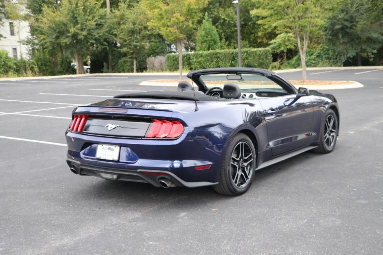 Used 2020 Ford MUSTANG Premium ecoboost  ECOBOOST PREMIUM CONVERTIBLE for sale Sold at Auto Collection in Murfreesboro TN 37130 3