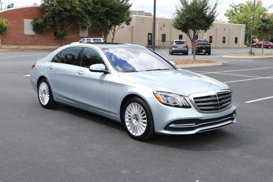 Used 2019 Mercedes-Benz S560 PREMIUM RWD W/NAV TV for sale Sold at Auto Collection in Murfreesboro TN 37130 1