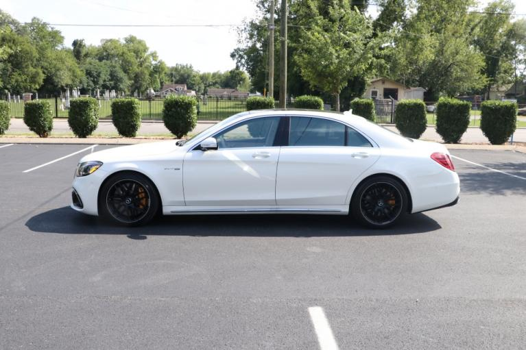 Used 2020 Mercedes-Benz S63 AMG 4Matic W/NAV for sale Sold at Auto Collection in Murfreesboro TN 37130 7