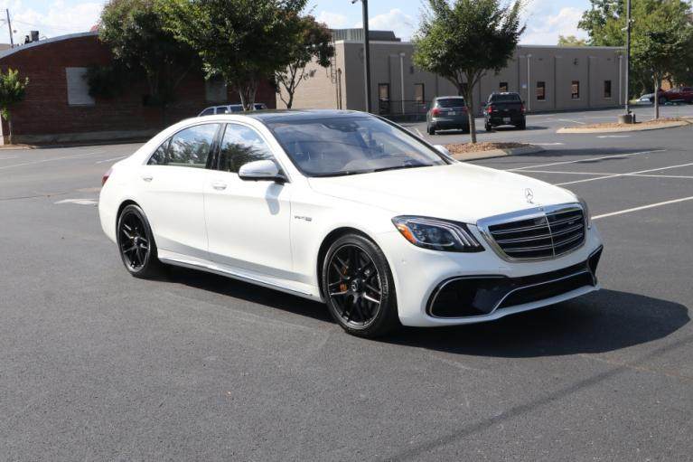 Used 2020 Mercedes-Benz S63 AMG 4Matic W/NAV for sale Sold at Auto Collection in Murfreesboro TN 37130 1