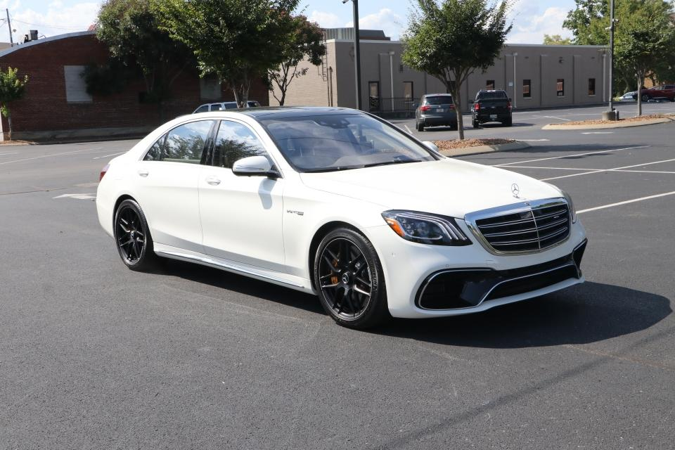 Used 2020 Mercedes-Benz S63 AMG 4Matic+ W/NAV S63 AMG 4MATIC for sale $149,950 at Auto Collection in Murfreesboro TN 37130 1