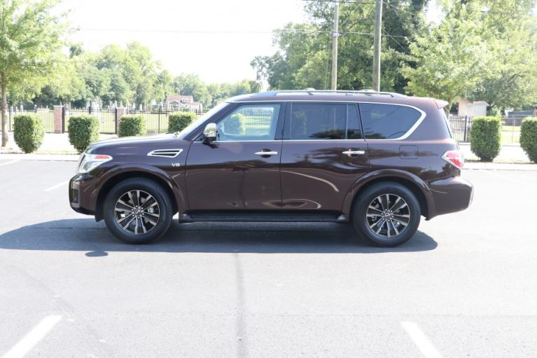 Used 2020 Nissan ARMADA Platinum 4x2 W/NAV TV DVD PLATINUM 2WD for sale Sold at Auto Collection in Murfreesboro TN 37130 7