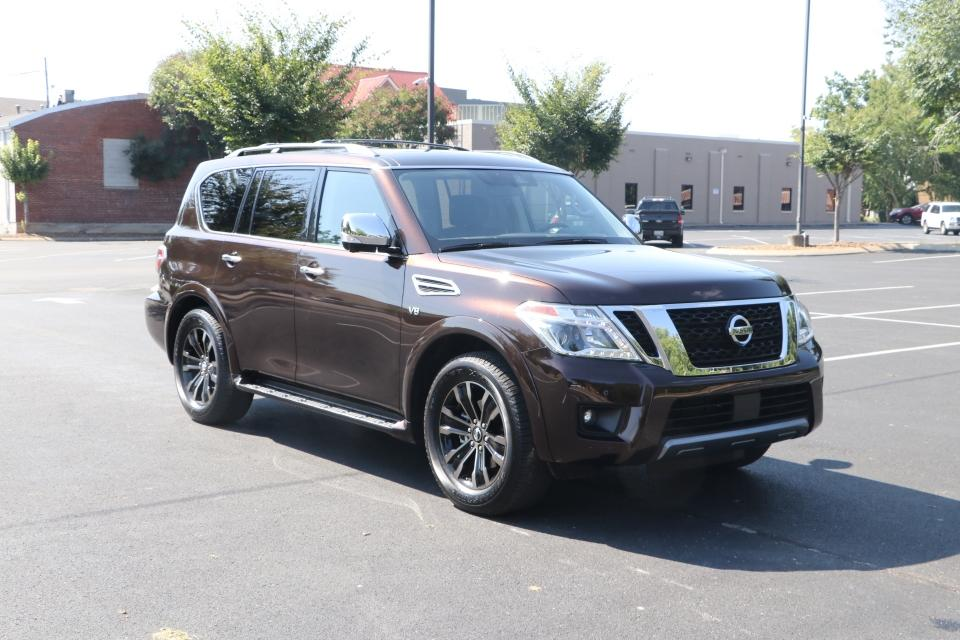 Used 2020 Nissan ARMADA Platinum 4x2 W/NAV TV DVD PLATINUM 2WD for sale Sold at Auto Collection in Murfreesboro TN 37130 1