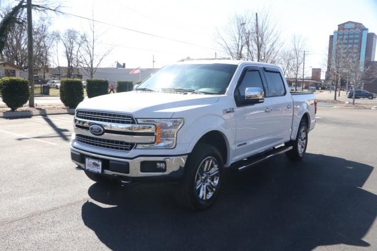 Used 2018 Ford F-150 LARIAT SUPERCREW 4X4 DIESEL W/NAV LARIAT SUPERCREW 5.5-FT. BED 4WD for sale $39,950 at Auto Collection in Murfreesboro TN 37130 2