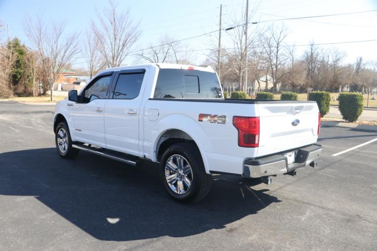Used 2018 Ford F-150 LARIAT SUPERCREW 4X4 DIESEL W/NAV LARIAT SUPERCREW 5.5-FT. BED 4WD for sale $39,950 at Auto Collection in Murfreesboro TN 37130 4
