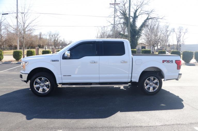 Used 2018 Ford F-150 LARIAT SUPERCREW 4X4 DIESEL W/NAV LARIAT SUPERCREW 5.5-FT. BED 4WD for sale $39,950 at Auto Collection in Murfreesboro TN 37130 7
