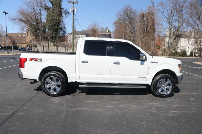Used 2018 Ford F-150 LARIAT SUPERCREW 4X4 DIESEL W/NAV LARIAT SUPERCREW 5.5-FT. BED 4WD for sale $39,950 at Auto Collection in Murfreesboro TN 37130 8