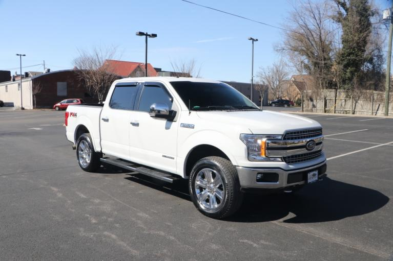 Used 2018 Ford F-150 LARIAT SUPERCREW 4X4 DIESEL W/NAV LARIAT SUPERCREW 5.5-FT. BED 4WD for sale $39,950 at Auto Collection in Murfreesboro TN 37130 1