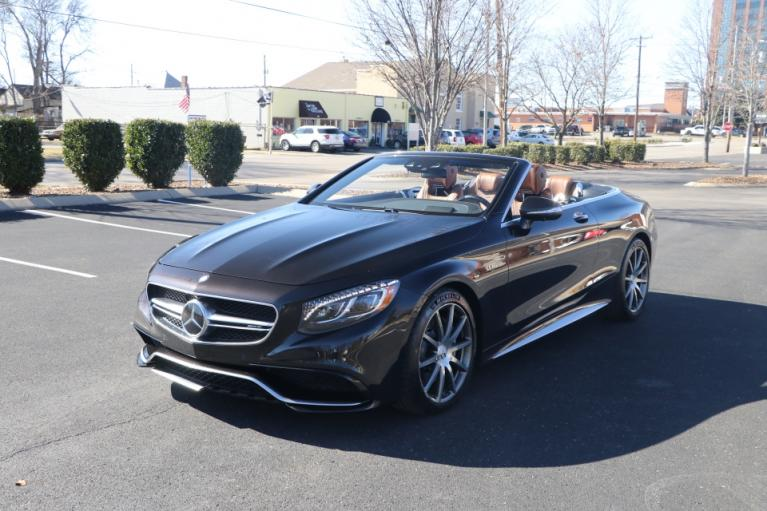 Used 2017 Mercedes-Benz S63 AMG 4MATIC CABRIOLET AWD W/NAV for sale Sold at Auto Collection in Murfreesboro TN 37130 2