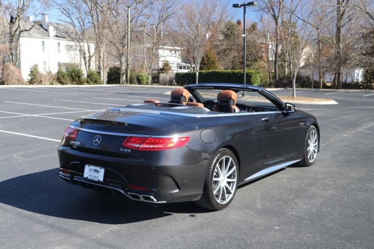 Used 2017 Mercedes-Benz S63 AMG 4MATIC CABRIOLET AWD W/NAV for sale Sold at Auto Collection in Murfreesboro TN 37130 3