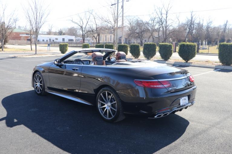 Used 2017 Mercedes-Benz S63 AMG 4MATIC CABRIOLET AWD W/NAV for sale Sold at Auto Collection in Murfreesboro TN 37130 4