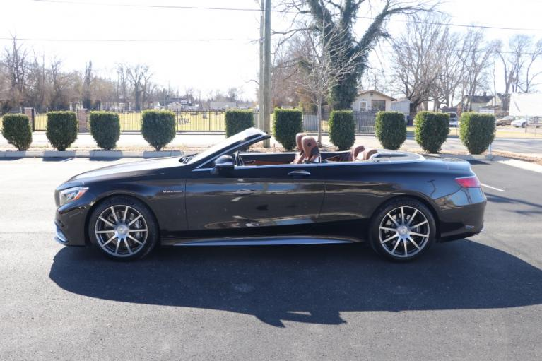 Used 2017 Mercedes-Benz S63 AMG 4MATIC CABRIOLET AWD W/NAV for sale Sold at Auto Collection in Murfreesboro TN 37130 7