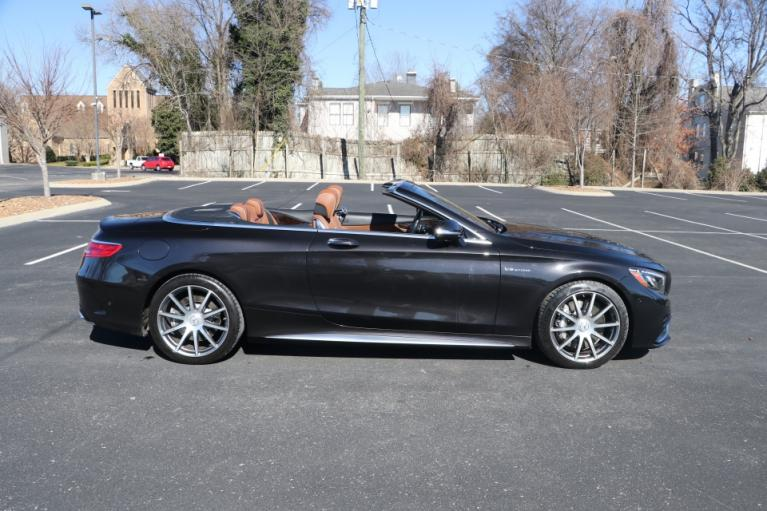 Used 2017 Mercedes-Benz S63 AMG 4MATIC CABRIOLET AWD W/NAV for sale Sold at Auto Collection in Murfreesboro TN 37130 8
